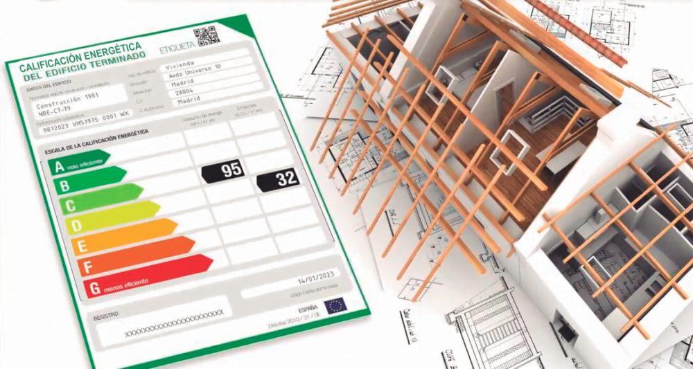Imagen de un certificado energético